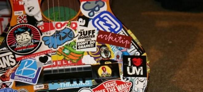 #Полезно знать | Как сделать DIY-наклейку для гитары