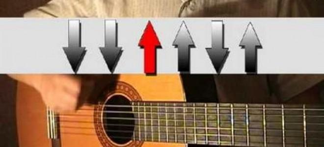 Как играть бой шестерка на гитаре