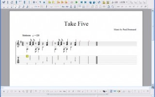 Учимся работать с Guitar Pro