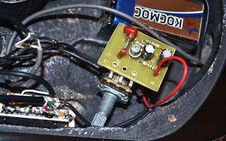 Электроника электрогитары