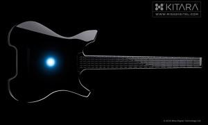 Цифровая гитара с сенсорным экраном