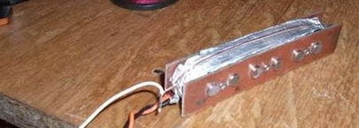 Делаем звукосниматель для акустической гитары: